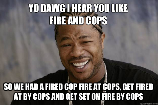 Xzibit on the chris dorner bonfire
