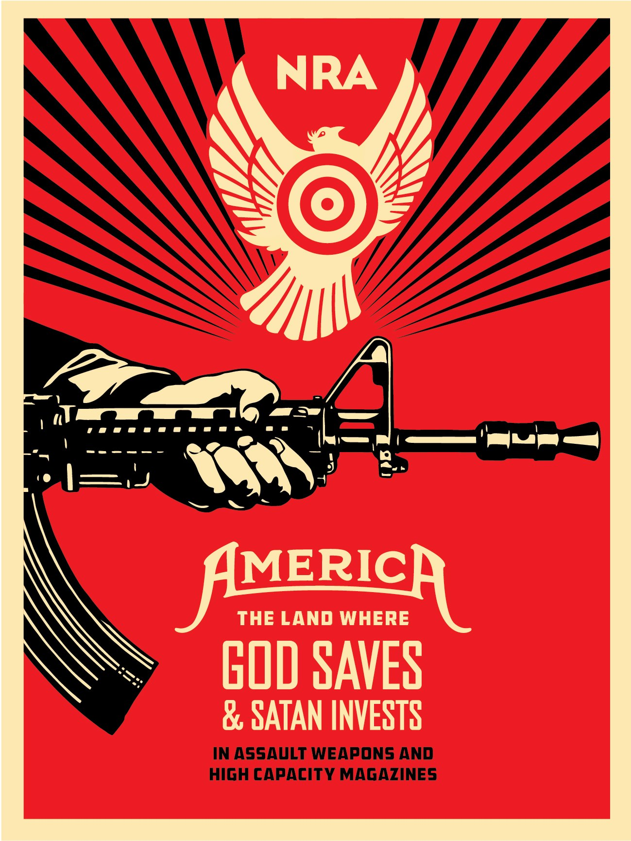 Shepard-Fairey-NRA-Gun-Control-Trolling