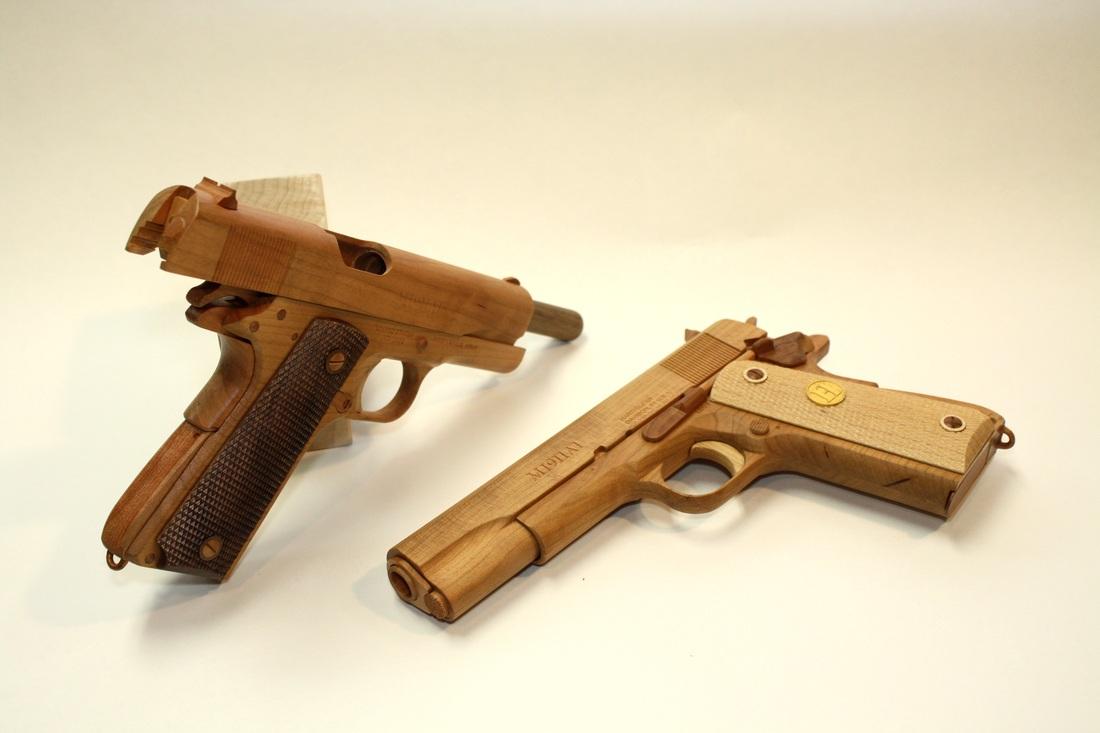 Wood-1911-Handgun