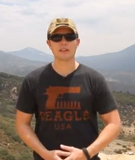 Richard-Ryan-Deagle-T-Shirt
