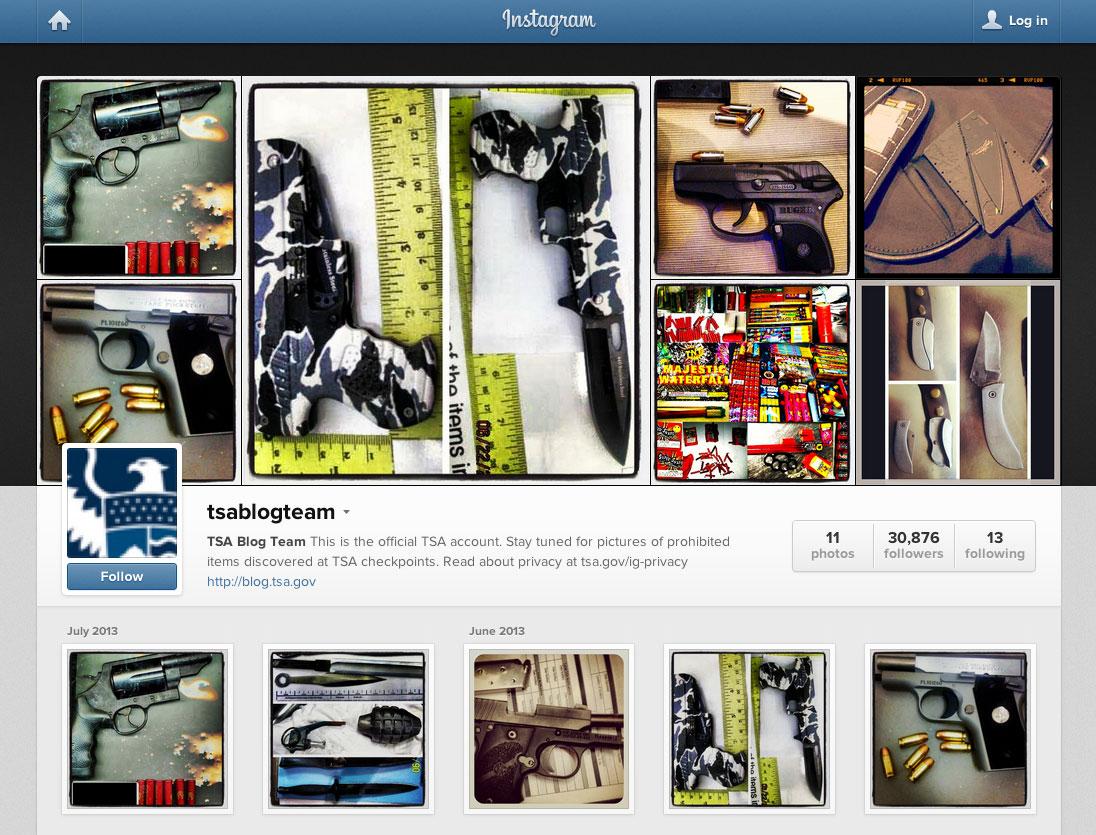 TSA-Instagram