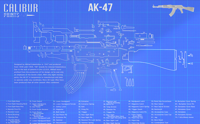 Calibur-Prints-AK47