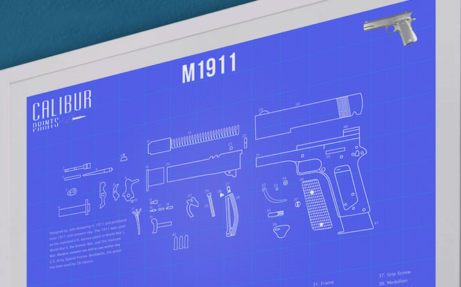 Calibur-Prints-M1911