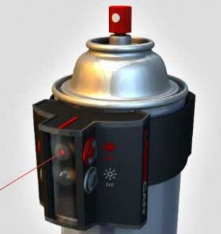 LaserCan-Spray-Paint-Laser-Guidance