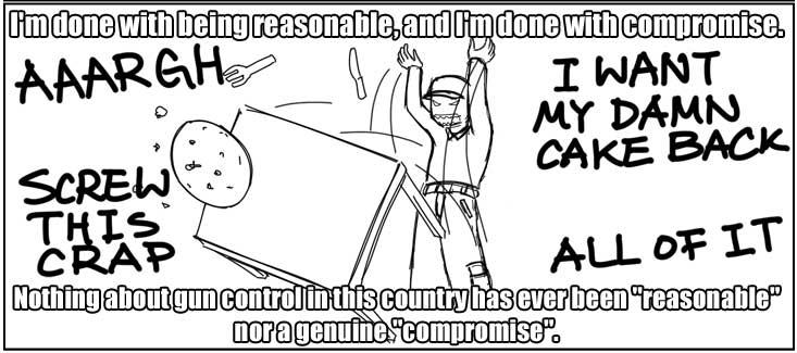 cartoon about gun compromise