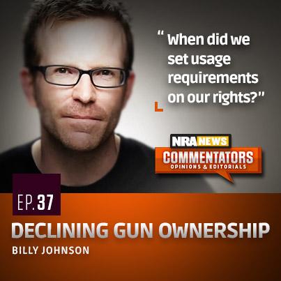 Billly-Johnson-Declining-Gun-Ownership