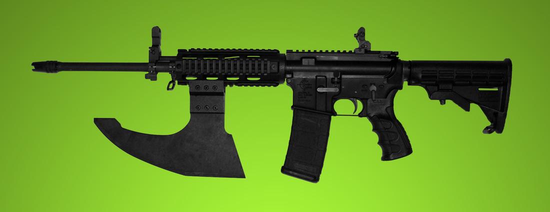 Gun-Rail-Mounted-Axe-Blade-AR15