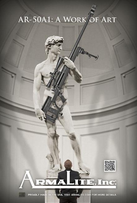 Armalite-Michelangelo-David-Rifle