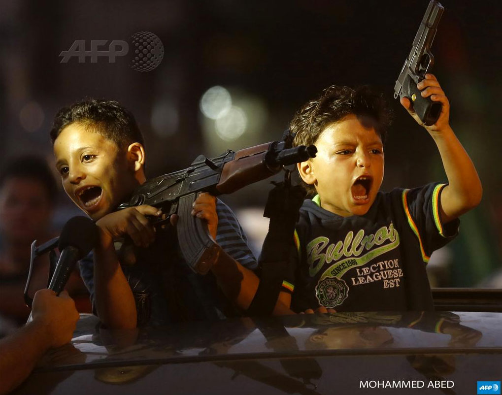Kids-With-Guns-Gaza