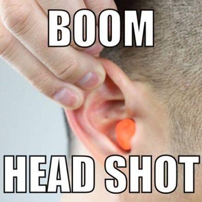Rubber-Bullet-Ear-Plug