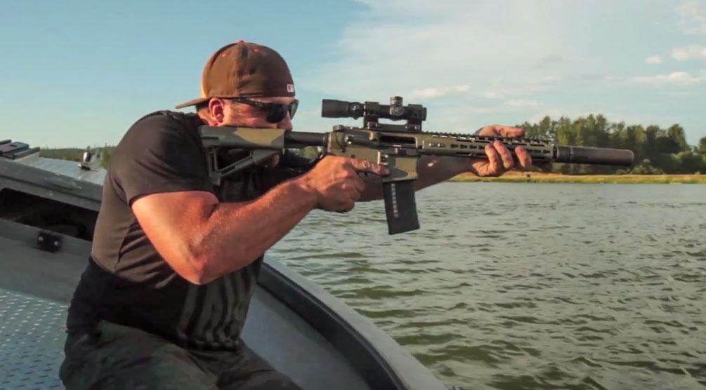 Silencerco-Boat-Shooting