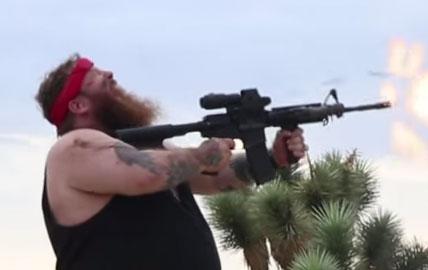 Action-Bronson-Shooting-m4-Rifle
