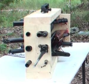 Six-Triggers-Six-Barrels-Gun