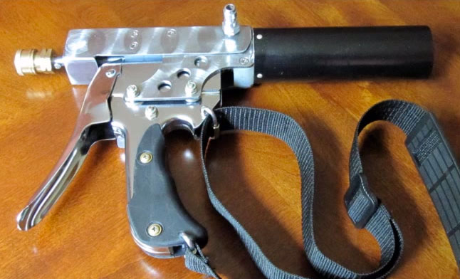 Staple-Gun-Four-Barreled-410-Handheld-Shotgun