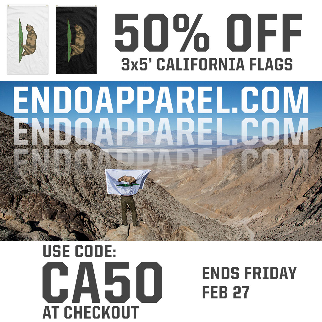 ENDO-Californa-Flag-Sale