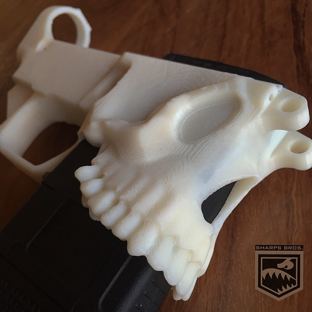 Skull-AR15-Receiver-Sharps-Bros