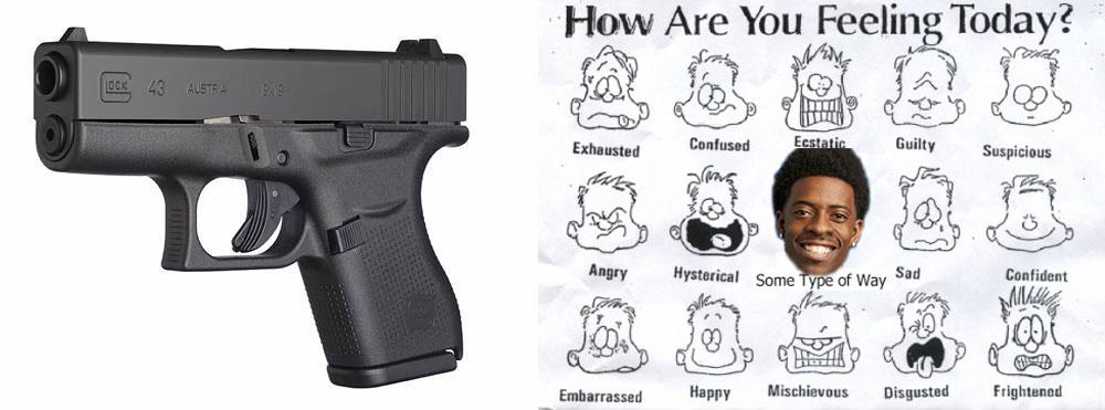 Single Stack 9mm Handguns Glock 43 Single Stack 9mm Got