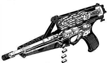 Calico-cutaway
