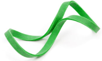 green-elastic-band
