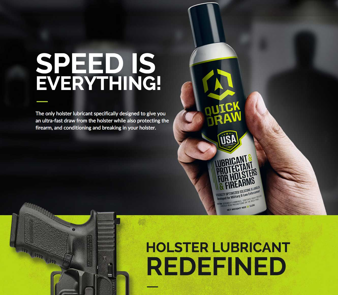 Quick-Draw-Holster-Lubricant