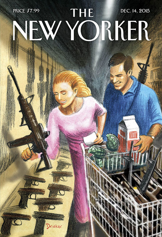 New-Yorker-Magazine-Drooker-Assault-Weapons-Shopping