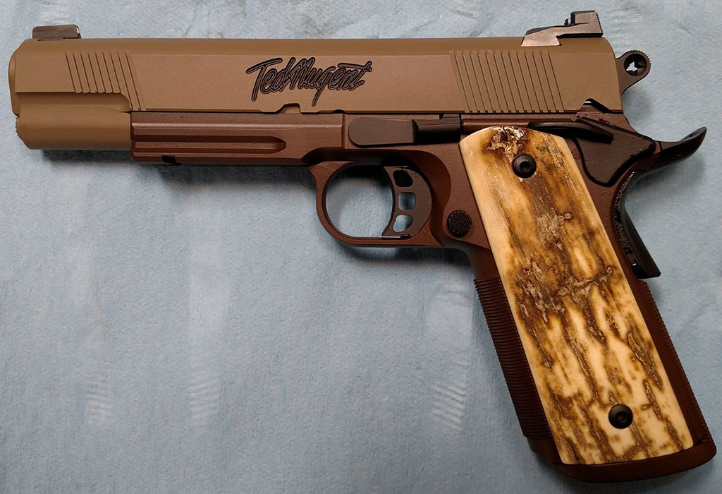 Ted-Nugent-1911-Republic-Forge