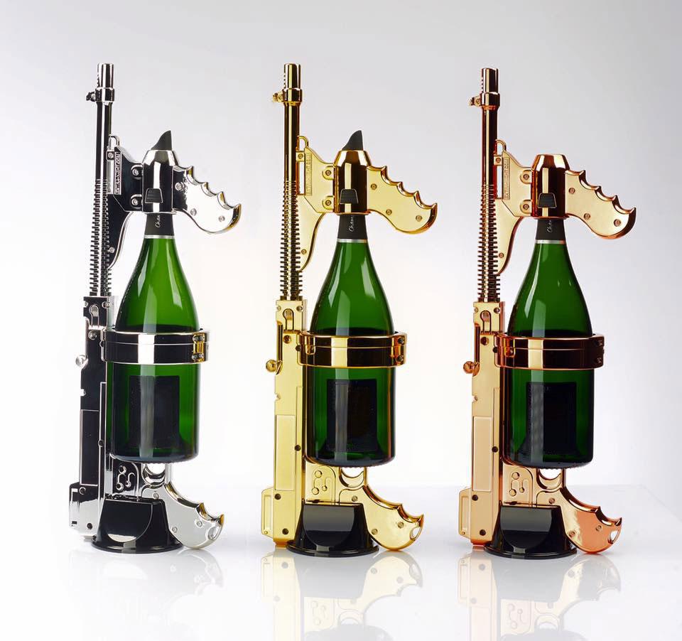 Champagne-Gun