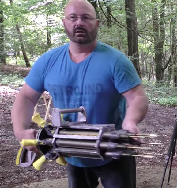 Joerg-Sprave-Six-Barrel-Spear-Gun