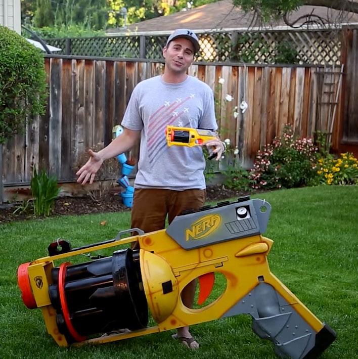 Largest-NERF-Gun