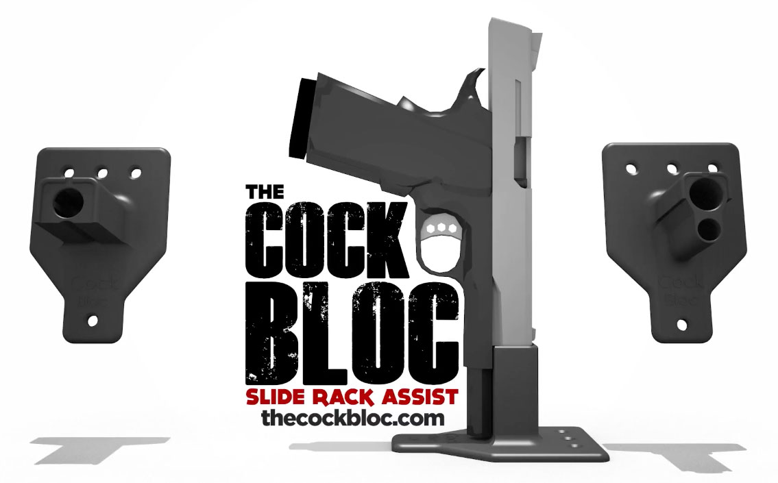 Cock Bloc Slide Rack Assist Device