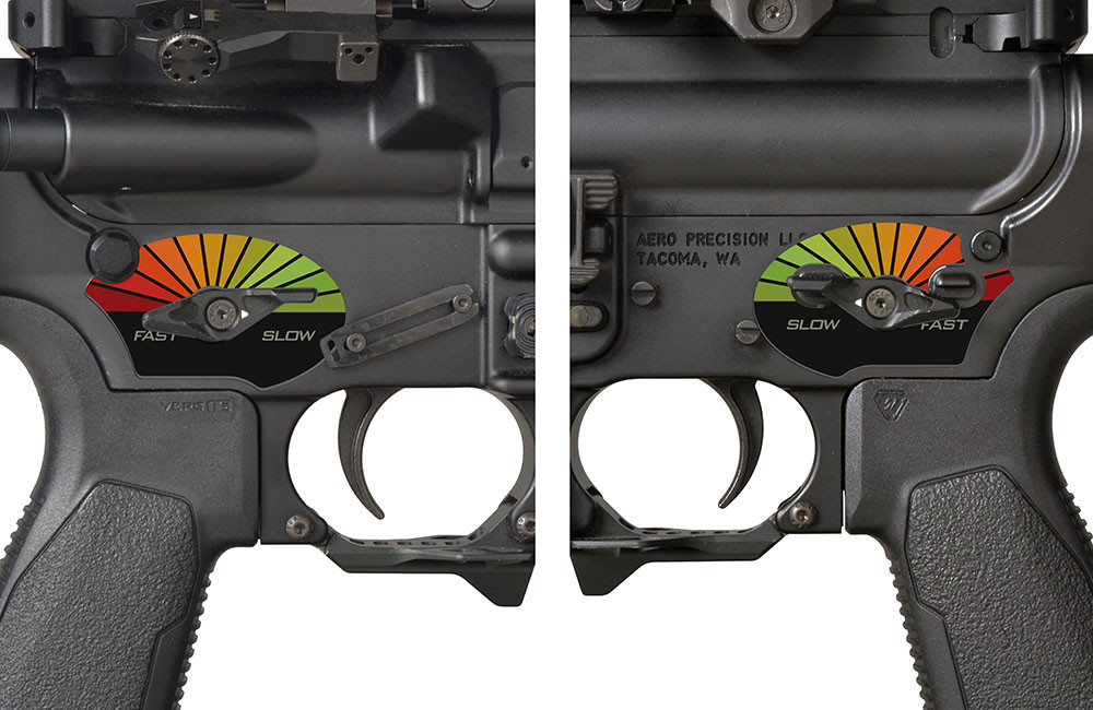 Ar15 Lower Receiver Decal ✓ Satu Sticker