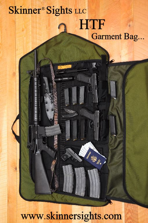 Tactical Garment Bag For Your Guns Not Suit